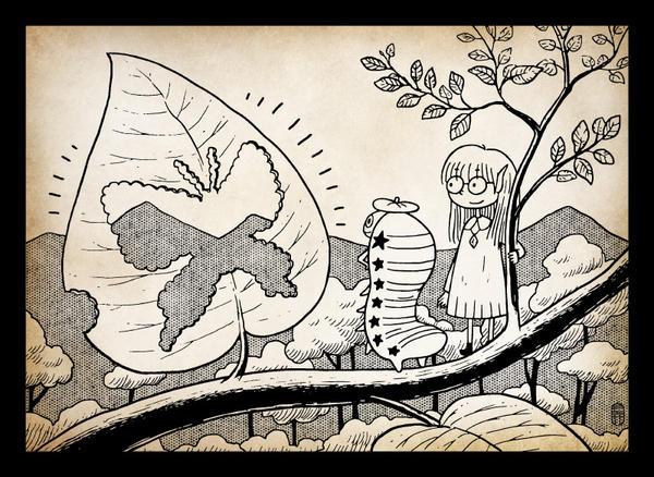 Caterpillar artists by hanahanamin
