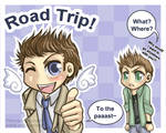 SPN: Road Trip with Castiel