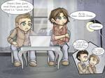SPN: Sam-slash-Dean