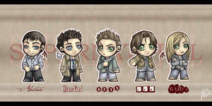 SPN: Fearsome Five by Twilight-Deviant