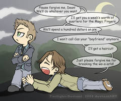 SPN: Forgive Meeee by Twilight-Deviant