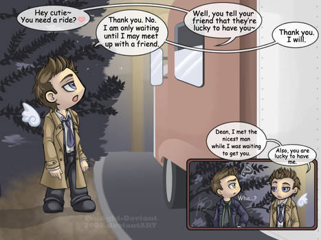 SPN: I'll Just Wait Here Then