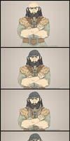 Hobbit: Knitting by Twilight-Deviant