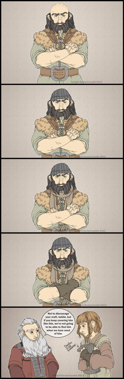 Hobbit: Knitting