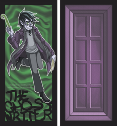 DP: Ghost Writer Bookmark