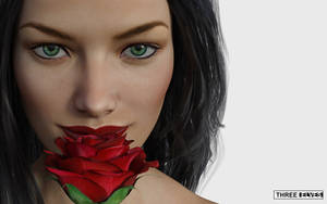 The Rose by ThreeElves