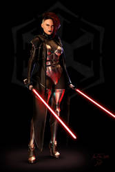 Sith Marauder by ThreeElves