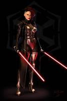 Sith Marauder by ThreeElves