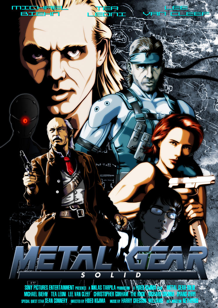 Metal Gear Solid the Movie by Nether83