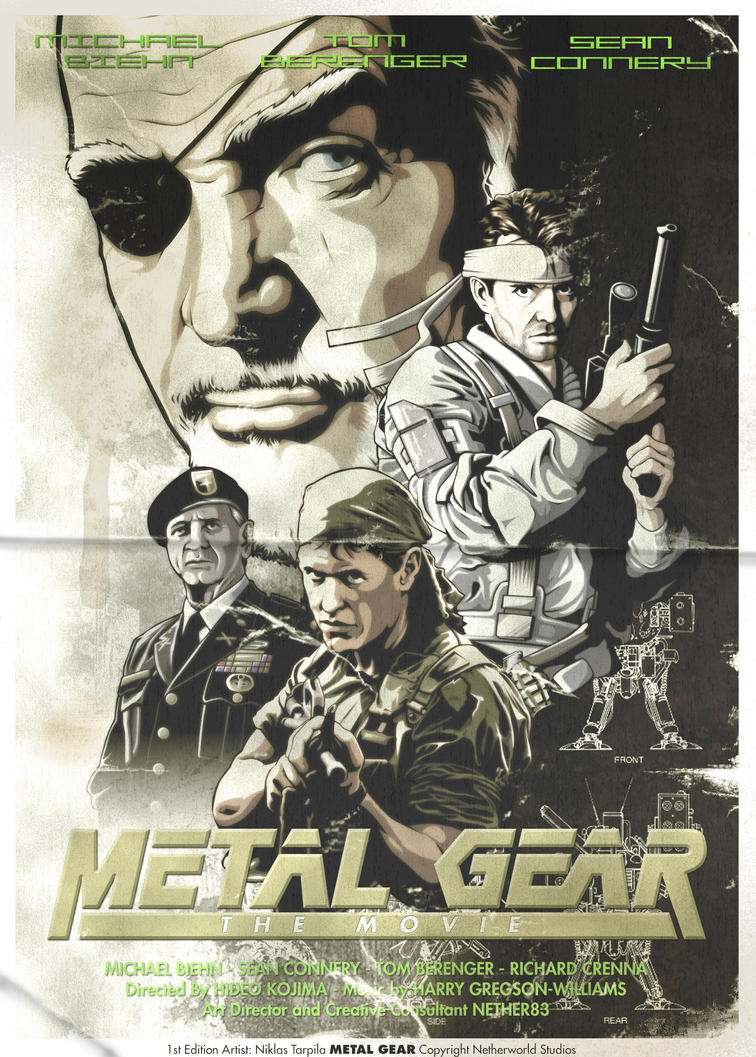 Metal Gear Vintage by Nether83