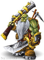 Dwarf-Orc by Nether83