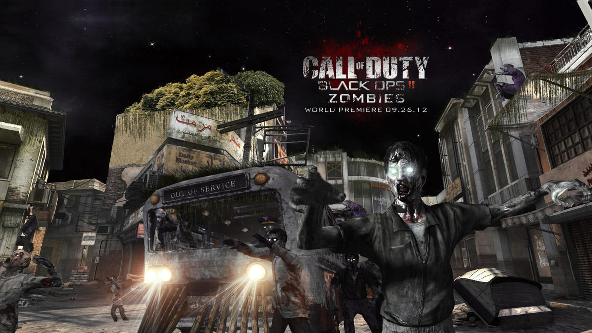 Black Ops 2 Zombies Wallpaper by xFrozenArtz on DeviantArt