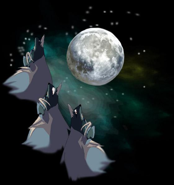 5d30ff9bdec Three Wolf Moon by Ultraflame22 on DeviantArt