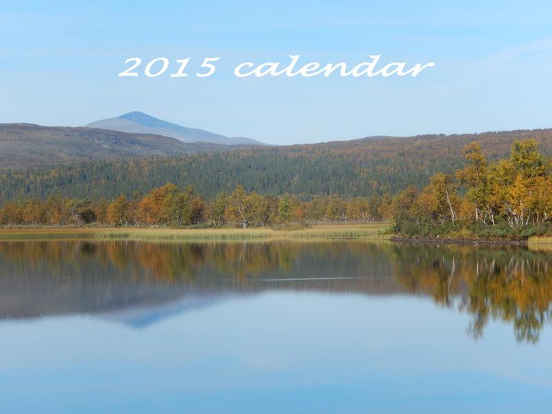2015 Calendar by musicalcat