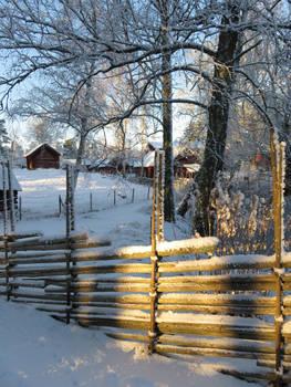 Museum in Snow