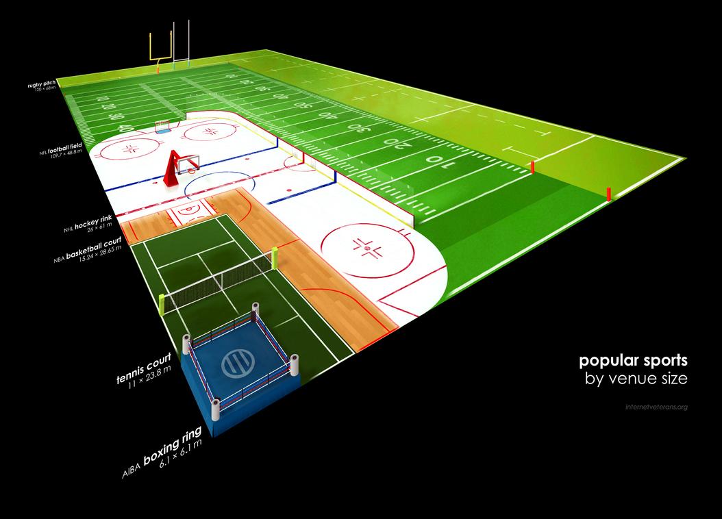 hockey field dimensions in meters