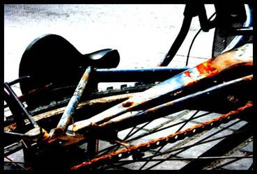 Rusted bike by y-i-z