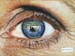 Color Drawing Eye .. by ErenLACIN