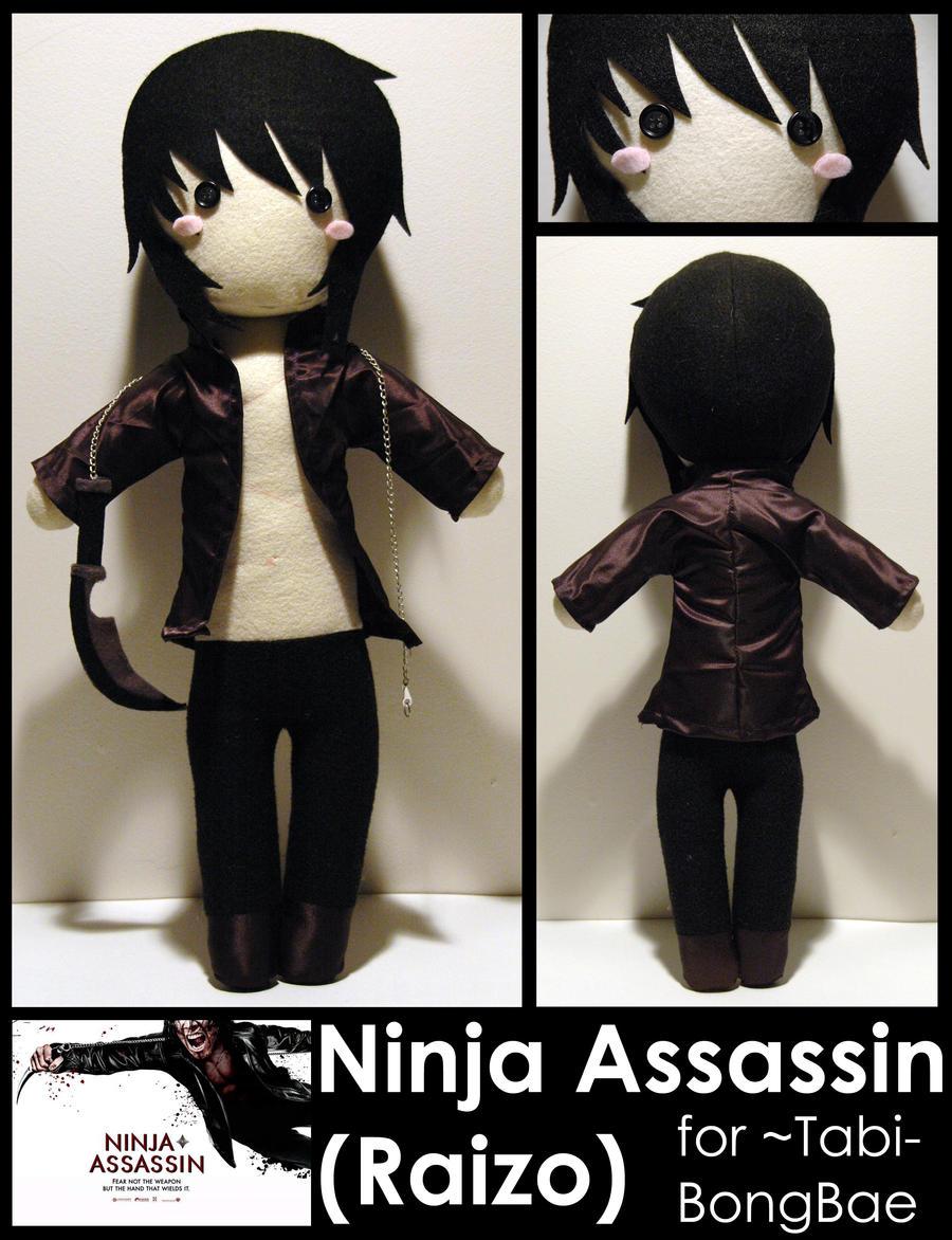 Ninja Assassin -commission- by AlchemyOtaku17