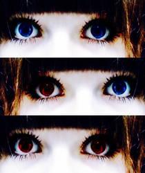 Blue Eyes by AlchemyOtaku17