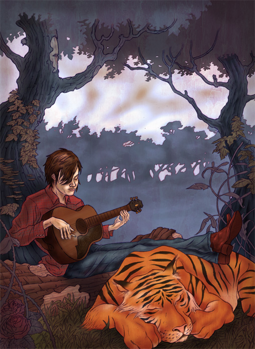 Easy Tiger by chrishope