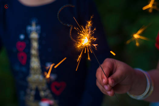 Day 354: Sparklers.