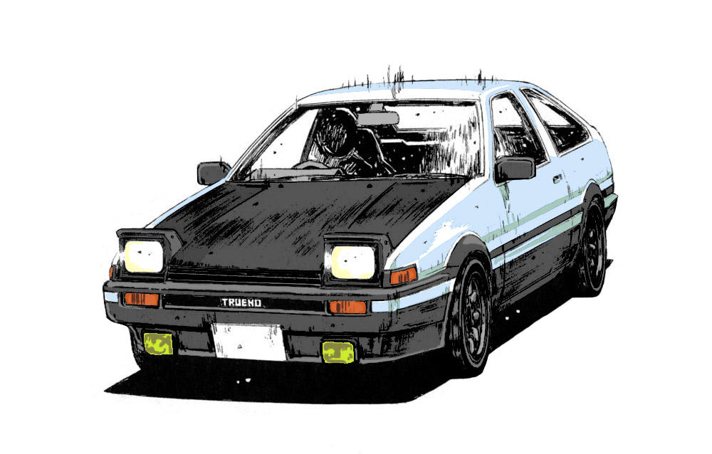 Trueno AE86 by Koebi o...