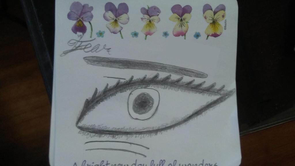 Emotional Eyes Part 5: Fear by UnleashaWinterStorm