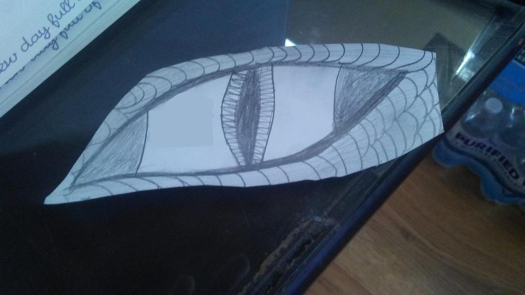 Dragon Eye by UnleashaWinterStorm