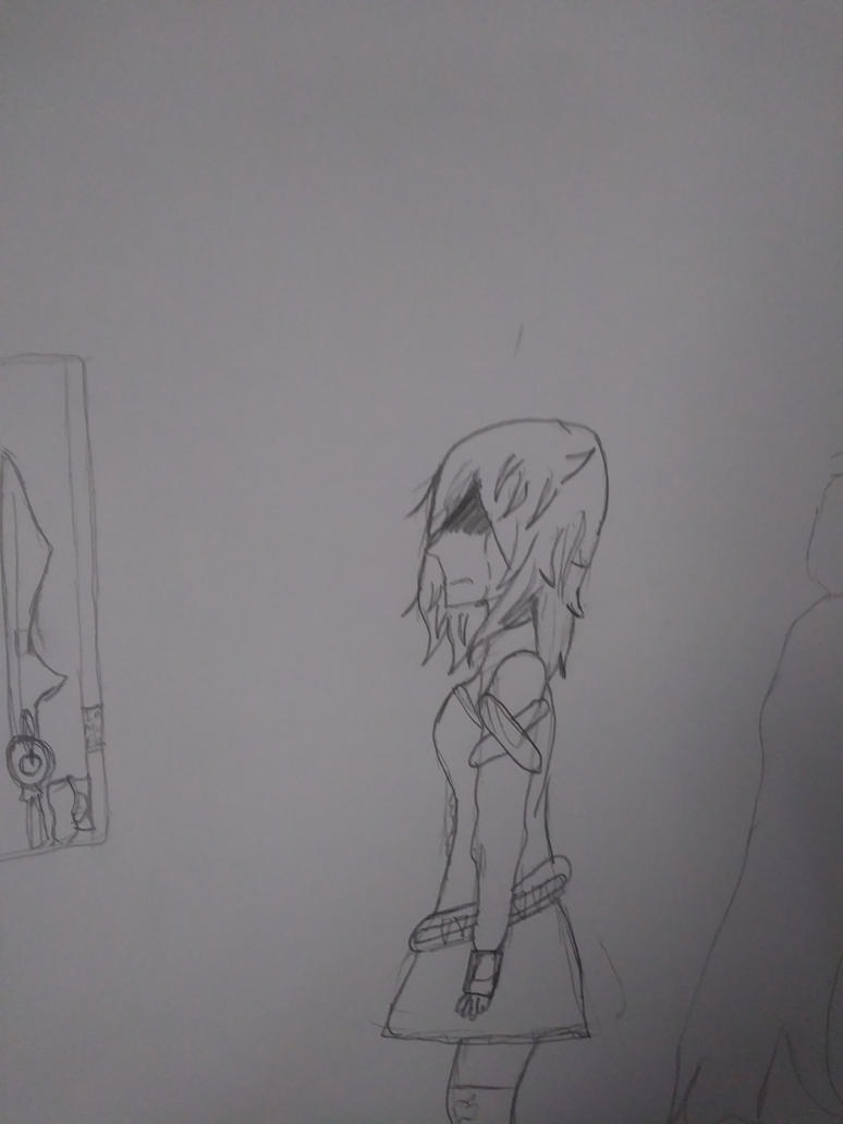 Ruby's Sadness by UnleashaWinterStorm