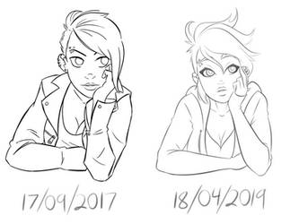 PG 2017 vs 2019 by DoodleDeli