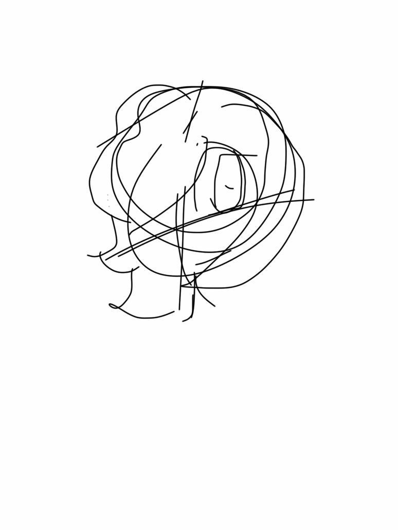 Sketch of me by LDgirly