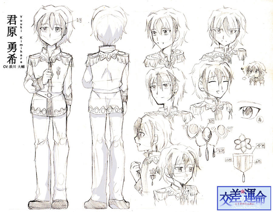 Design My Anime Character : Character design sheet yuuki by crossedestinies on deviantart