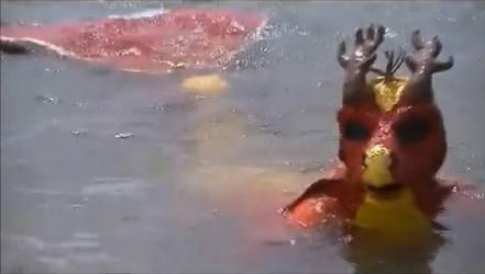 Underwater Swimable Sea Dragon suit
