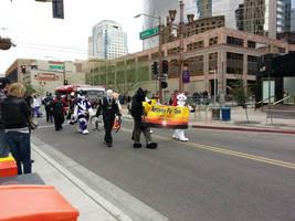Arizona Fur ConBanner at themardi Gra Parade