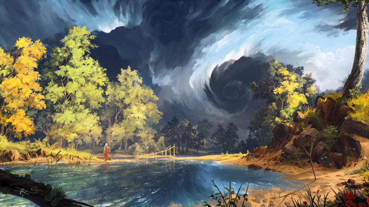 Storm Clouds by ReFiend