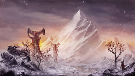 Lonely Mountain by ReFiend