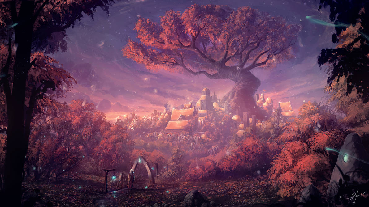 Great Oak by ReFiend