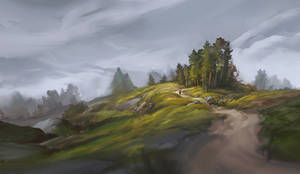 hilly path [Practice]