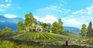 Little vineyard