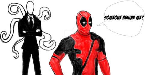 Deadpool vs Slender