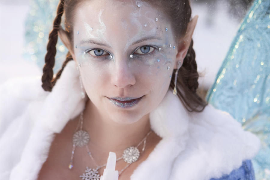 15 Frozen Ice Princess Fairy Make Up Ideas 2012 For