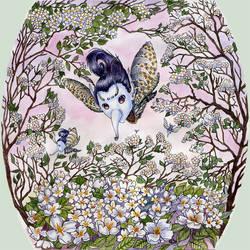 New Year Calendar: Jasmine by joan789