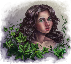 Fairy of the ivy by joan789