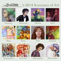 2014 Summary of Art (joan789) by joan789