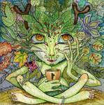 Green Man by joan789