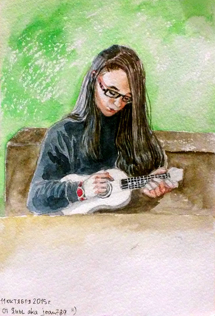 Ukulele by joan789
