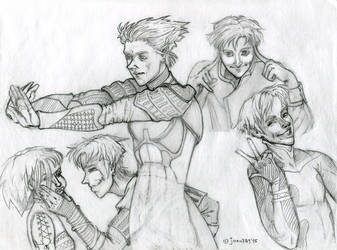 Armik-november-sketches by joan789