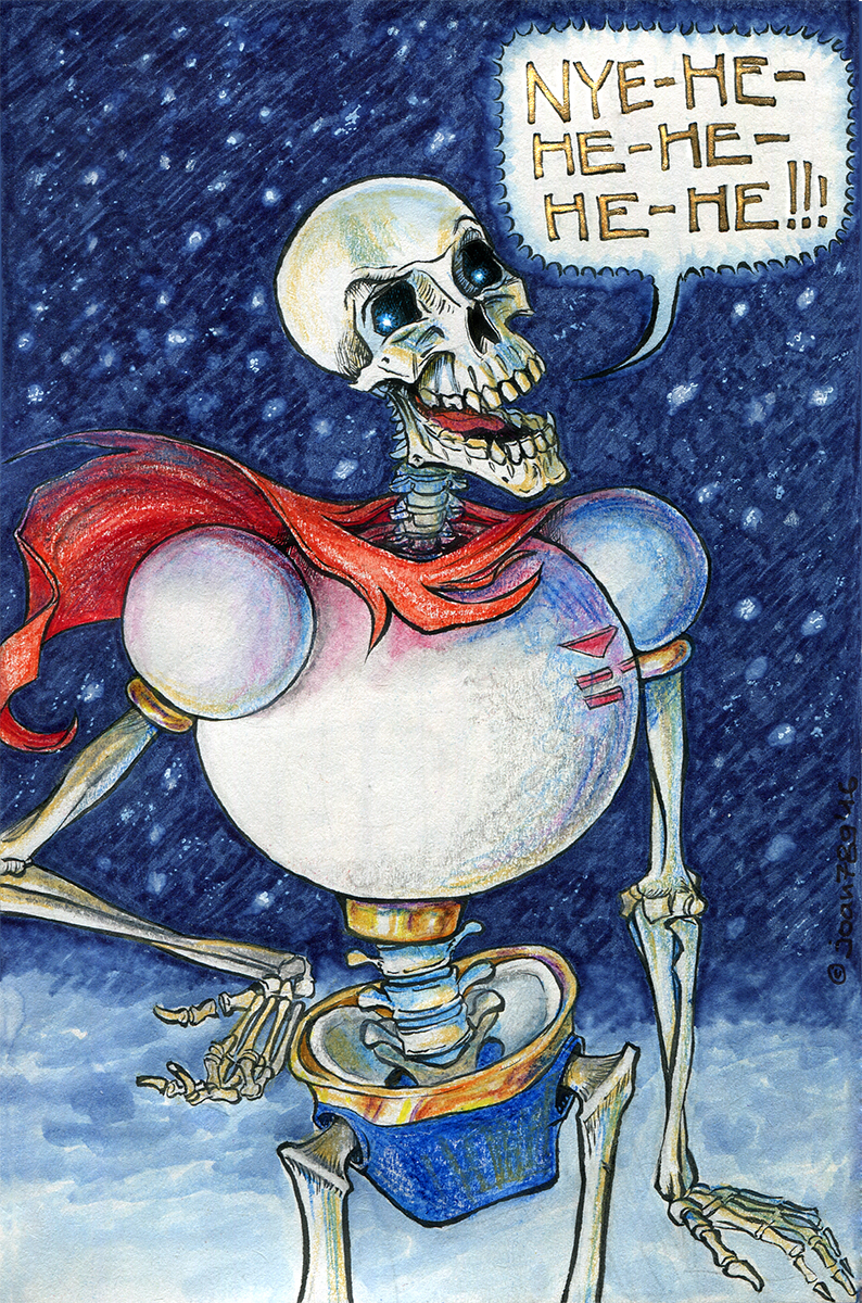 Snowy Papyrus by joan789