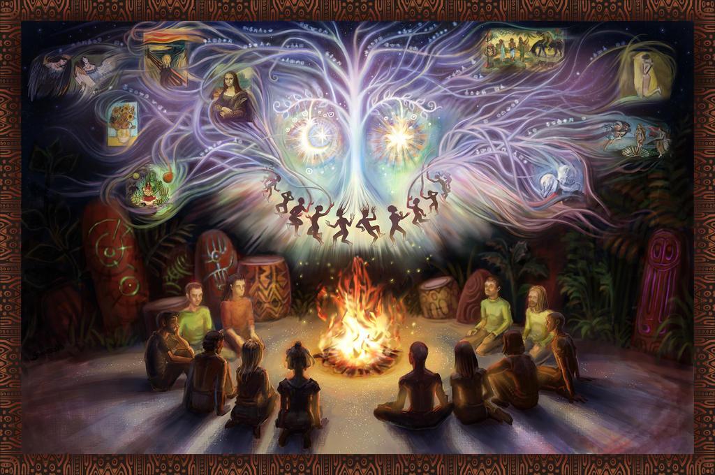 Magic visions of art by joan789